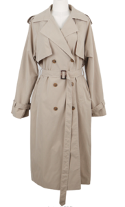#made some byme double trench coat