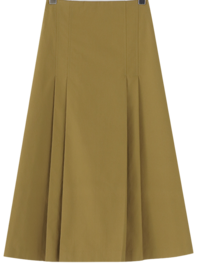 Mason pleated long skirt