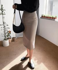 Smoothie Simple Long Skirt