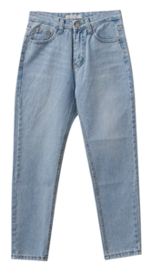 Marine Faded Denim Pants
