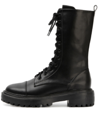 Fever lace-up walker boots