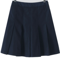Cabinet pleated skirt