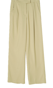 Romanda Pintuck Wide Long Slacks