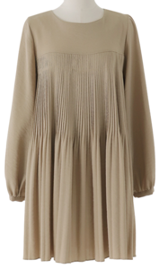 Freya pleated mini Dress