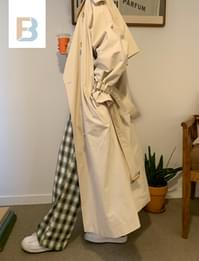 Mare Long Trench Coat