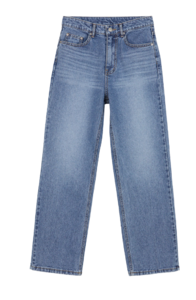 Pebble Faded Wide Jeans