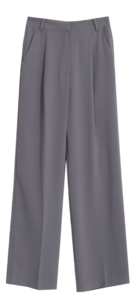 Rilapin Tuck Long Slacks