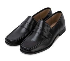 Weight penny loafers