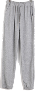 Tender Ribbed jogger trousers