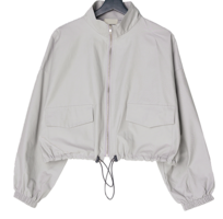 Abang cropped high-neck field Jacket