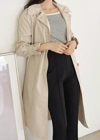 Signora fall-in trench coat