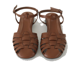 Hampton Leather Flat Sandals