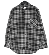 Toria overfit check shirt