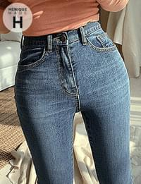 155cm high skinny denim with a 155cm string attached to my body