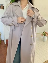Weekday Long Trench Coat