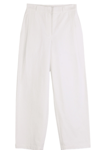 Nurse wide cotton trousers