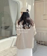 Gentle Setup Classic Single Jacket *