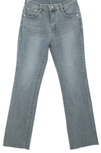 Dirty Gray Spandex Flared Jeans