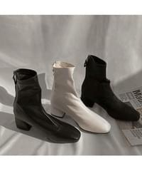 Derby Fleece-lined ankle boots shoes