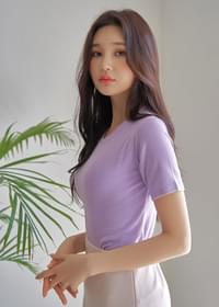 Slim Fit Support Short Sleeve T-Shirt