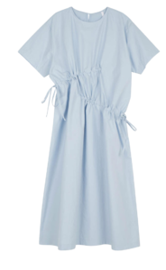Lily ruched long dress