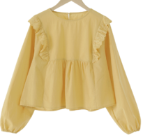 Naples Frillblouse