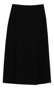 Rae pintuck long skirt