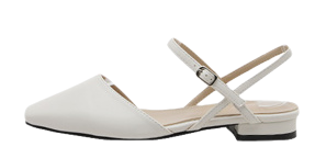 Reverf Buckle Strap Flat Shoes