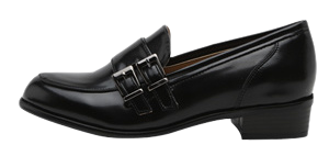 Peton buckle strap loafers