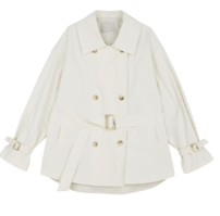 Vince short trench coat