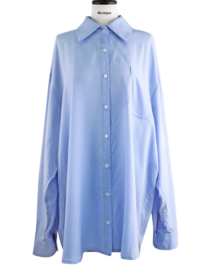 ♥♥With Me Silky Shirt Blouse Mini Dress