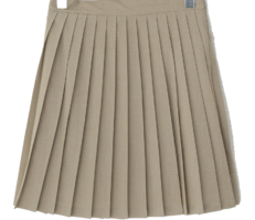 Jetty pleated mini skirt