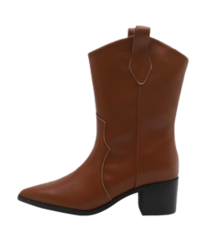 Fedine Western Middle Boots