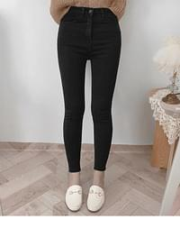 Point of View High Waist Ankle Cheong Skinny