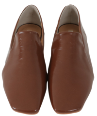 Bella Square Flat Loafers