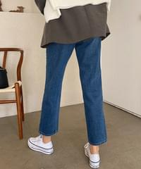 Butter loose fit straight jeans