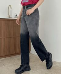 Albi Gradient Wide Denim Pants