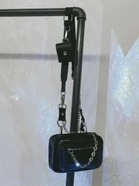 Chain cross & shoulder bag