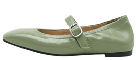 Litienne Mary Jane Flat Shoes