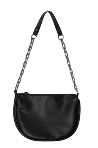 Meta chain shoulder bag