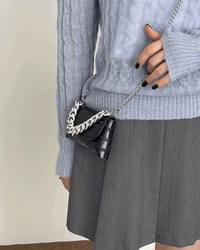 Tiny Wani Chain Mini Wallet Belt Cross Bag