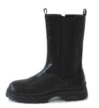 Gore leather middle boots