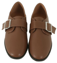 Soho belted flat loafers