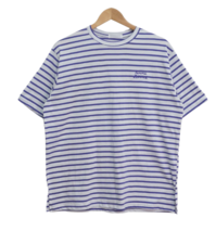 Daily Striped Crayon Short Sleeve Tee