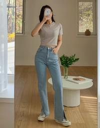 Icebreaker Faded Slit Jeans