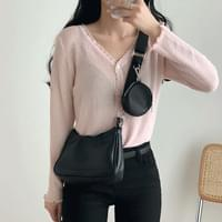 Cross mini hobo bag