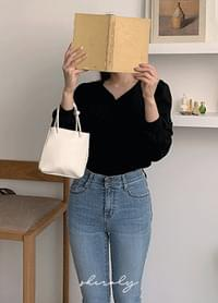 Shovelly mini tote bag