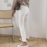3-color daily pants