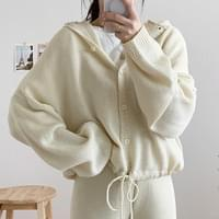 Marvin hooded cardigan