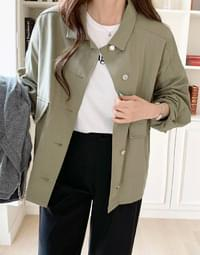 Denver Daily Loose Fit Loose-fit Box Jacket